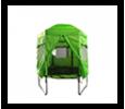 Trambulin sátor